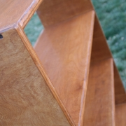 image of bookcase detail